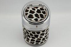 Leopard skin Flip Top Ashtray