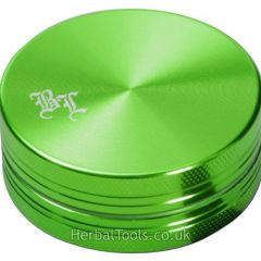 Black Leaf Aluminium Grinder Green