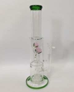Rose Petal Percolator Bong
