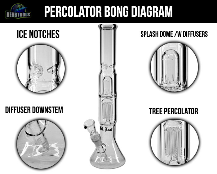 Bong Percolator Diagram